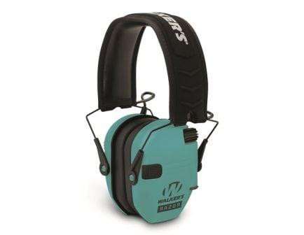 Walker Razor-Slim Shooter Electronic Folding Muff Series, Light Teal - GWP-RSEM-LTL