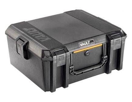 Pelican V600 Vault Handgun Case, Black - VCV600-0000-BLK