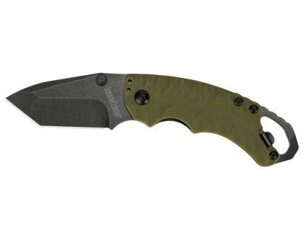 Kershaw Shuffle II Folding Knife, Olive w/ BlackWash Finish - 8750TOLBWX