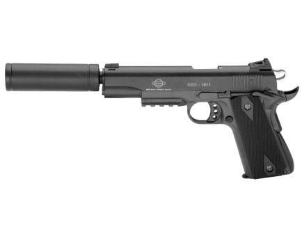 German Sports Guns 1911 Pistol with Fake Suppressor