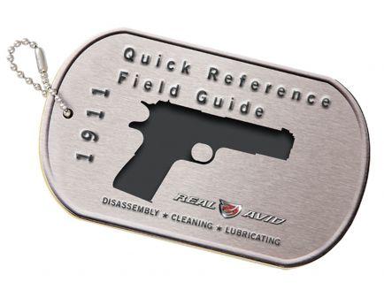 Real Avid 1911 Style Pistol Booklet Field Guide - AV1911R