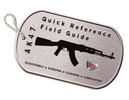 Real Avid AK-47 Rifle Booklet Field Guide - AVAK47R