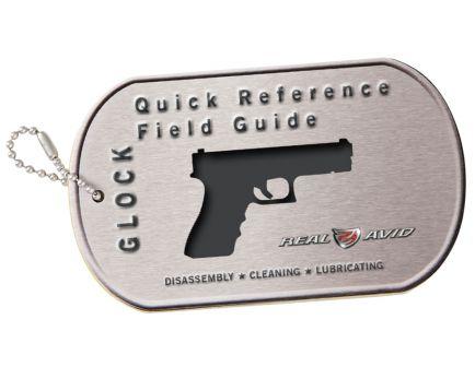 Real Avid Glock Style Pistol Booklet Field Guide - AVGLOCKR