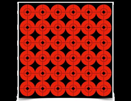 """Target Spots 360 1"""" Targets- - -33901"""