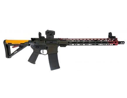 """PSA Custom """"Jet Pack"""" Billet 223 Wylde 16"""" Nitride 15"""" MLOK MOE Rifle, 3.5lb Flat FCG, Romeo5"""