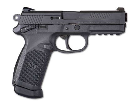 """FN Model FNX-45 .45 ACP 4.5"""" Pistol, Black - 66960"""