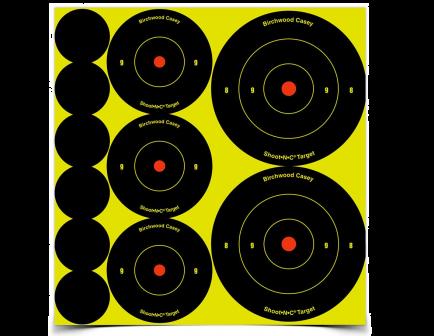 """Birchwood Casey Shoot'N'C Ass't 1"""", 2"""" & 3"""" Bull's-eye Target 34608"""