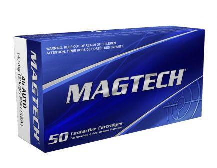Magtech 45 Auto/ACP 230gr FMJ Ammunition 50 Round Box- 45A