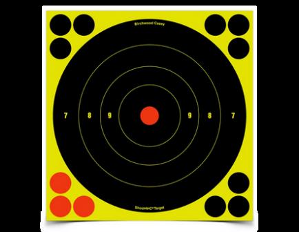 """Shoot-N-C 8"""" Bull's-Eye Target (6pk)"""