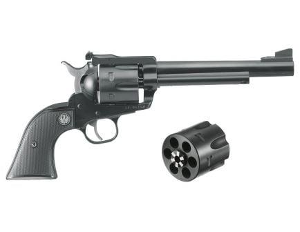 Ruger Blackhawk .357 mag / 9mm Luger Convertible Revolver, Black - 0318