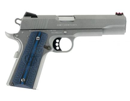 Colt 1911 Competition Series 70 45 ACP 8+1 Round Semi Auto Hammer Fired Pistol, Stainless - O1070CCS