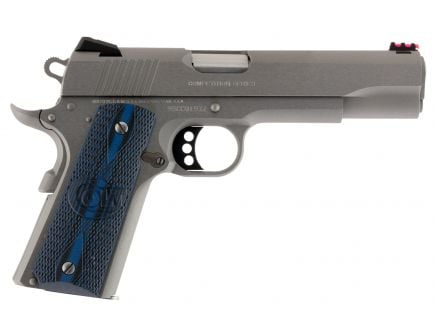 Colt 1911 Competition Series 70 9mm 9+1 Round Semi Auto Hammer Fired Pistol, Stainless - O1072CCS