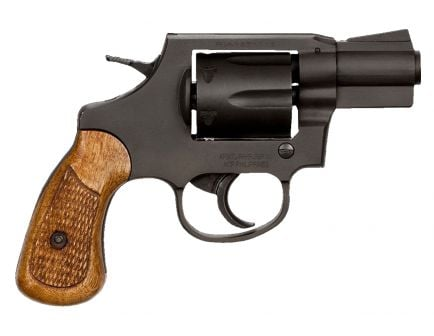 Rock Island M206 38 Special Full Shroud 6 Round Revolver, Parkerized - 51283