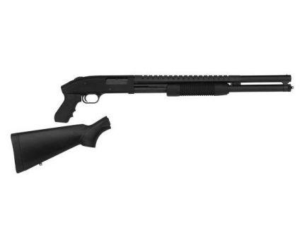 "Mossberg 500 Cruiser/Persuader 12 Gauge 20"" Barrel Shotgun w/ Pistol Grip & Stock, Black"