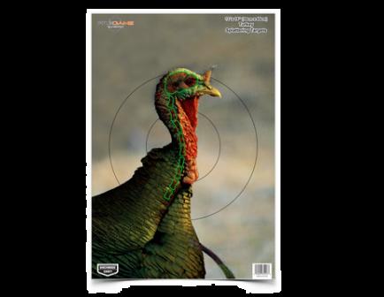 "Birchwood Casey Pregame - 12"" x 18"" Turkey Target - Each - 35413"