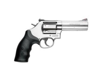 Smith & Wesson Model 686 Plus Medium .357 Mag/.38 S&W Spl +P Revolver, Satin Stainless - 164194