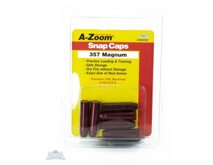 A-Zoom .357 Magnum Snap Caps 6 Pack- 16119