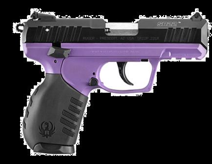 Ruger SR22 .22 LR Pistol, Purple - 3606