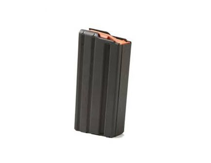 ASC Magazine: AR-15: 223/5.56mm 20rd Capacity Black Marlube Aluminum Green Follower - 20-223-AL-BM-GR-ASC
