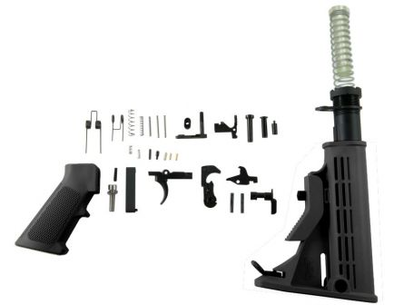 Enhanced AR-15 Lower Build Kit