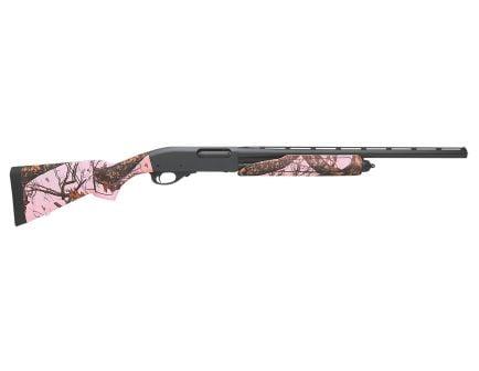 "Remington 870 Express Compact 20 GA 21"" Pump Shotgun, Mossy Oak Pink Blaze"