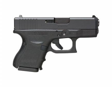 """Glock G26 Gen4 3.43"""" 10rd 9mm Pistol, Black - UG2650201"""