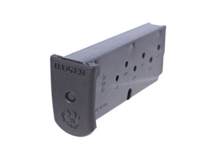 Ruger Magazine: 380 Auto/ACP: LC380 7rd Capacity w/Finger Extension - 90416