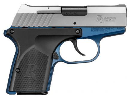 Remington RM380 Micro Blue/Silver 380 ACP 6+1 Round Pistol, Anodized Blue - 96244