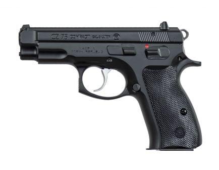 CZ 75 Compact 9mm Pistol, Black - 91190