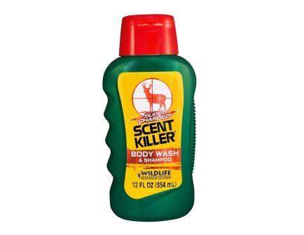 Wildlife Research Scent Killer Body Wash and Shampoo, 12 fl oz Bottle - 540-12