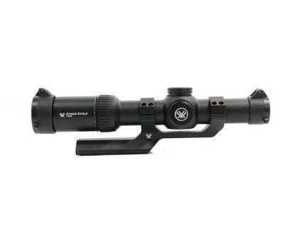 Vortex Strike Eagle 1-8x24mm AR-BDC2 Reticle Rifle Scope & Vortex Sport 30mm Cantilever Mount, Black