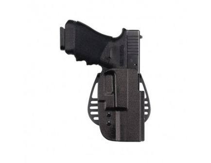 Uncle Mike's Tactical Open Top Kydex Paddle Holster, Left Hand (Size 24)