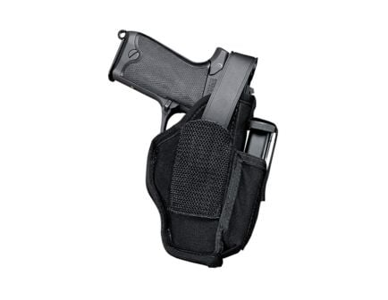 Uncle MIke's Sidekick Hip Holster W/ Mag Pouch, Ambidextrous (Size 2) - MO70020