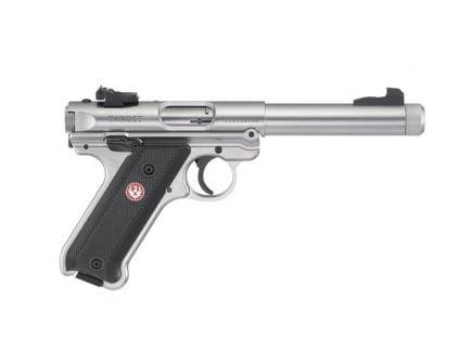 """Ruger Mark IV Target .22lr 5.5"""" SS Pistol - 40126"""