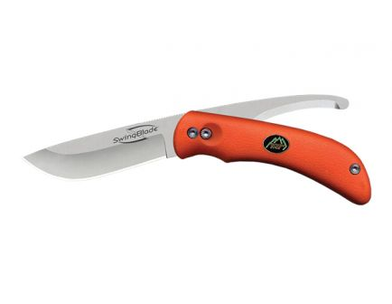 Outdoor Edge SwingBlaze Flipping Skinning Knife & Gutting Blade, Blaze-Orange - SZ-20NC