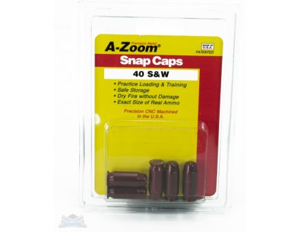 A-Zoom .40 S&W Snap Caps 5 Pack- 15114