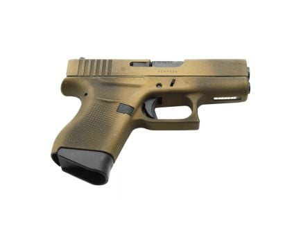 Glock 43 9mm Pistol, Battleworn Burnt Bronze