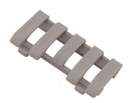 Ergo Low Pro 5 Slot Wire Loom Rail Covers