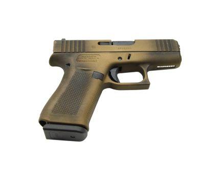 Glock 43X 9mm Pistol, Battleworn Burnt Bronze
