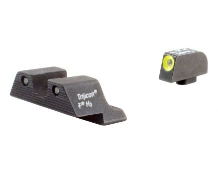 Trijicon Glock HD Night Sights with Yellow Front Outline - GL104Y