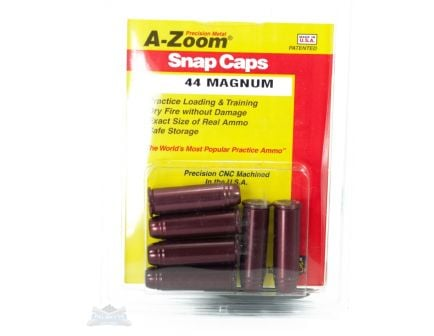 A-Zoom .44 Magnum Snap Caps 6 Pack- 16120