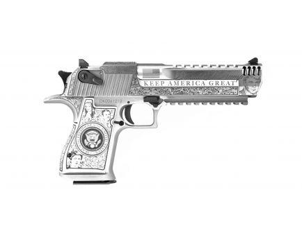 """Magnum Research Desert Eagle Trump .50 AE Pistol 6"""", SS  - DE50SRMBC1"""