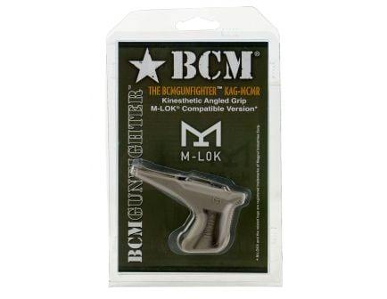 Bravo Company Mfg Angled Grip for M-LOK Handguard, Flat Dark Earth - KAGMCMRFDE
