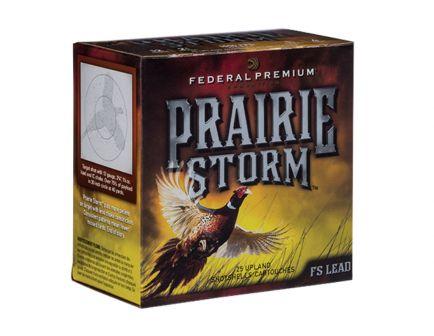 """Federal 12ga 3"""" 1-1/8oz #4 FS """"Prairie Storm"""" HV Steel Shotshells 25rds - PFS143FS"""