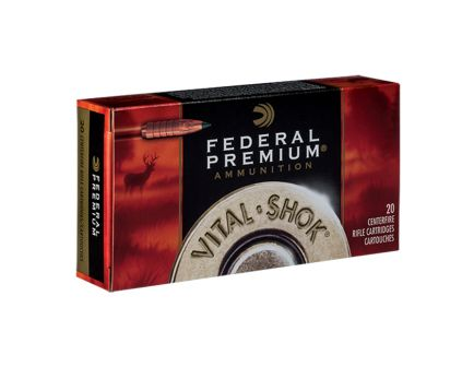 Federal .338 Federal 200gr Trophy Copper Vital-Shok Ammunition, 20 Rounds - P338FTC2