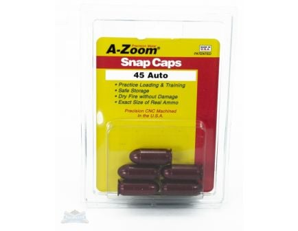 A-Zoom .45 ACP Snap Caps 5 Pack- 15115