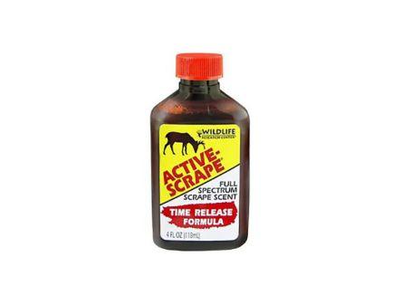Wildlife Research Active Scrape Hunting Scent, 4 fl oz Bottle - 240-4
