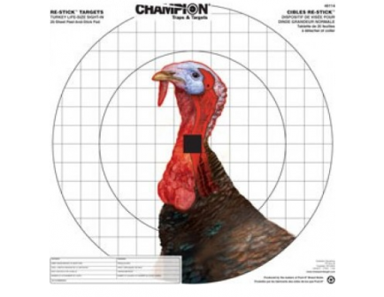"Champion Turkey Sight-In Target (16"" x 15.75""):  46114"