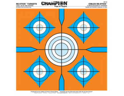 "Champion 5-Bull Blue and Orange (14.5"" x 14.5""):  46116"