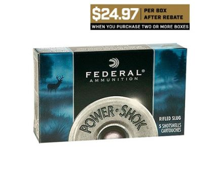 Federal 7mm Mauser 140gr SP Power-Shok Ammunition 20rds - 7B